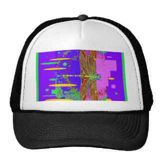 Modern Dragonfly City Scape Design by Sharles Hat