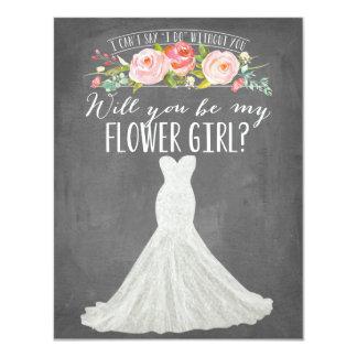 Modern Dress | Bridesmaid Card