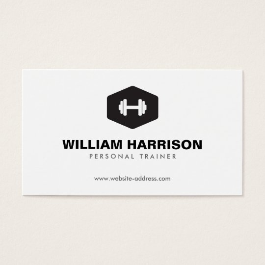 Personal Trainer Business Cards | Zazzle