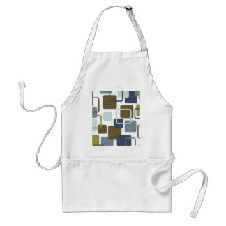 Modern Eames Rectangles 1 Adult Apron