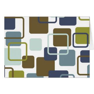 Modern Eames Rectangles 1 Card