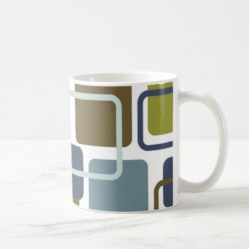 Modern Eames Rectangles 1 Coffee Mug Zazzle
