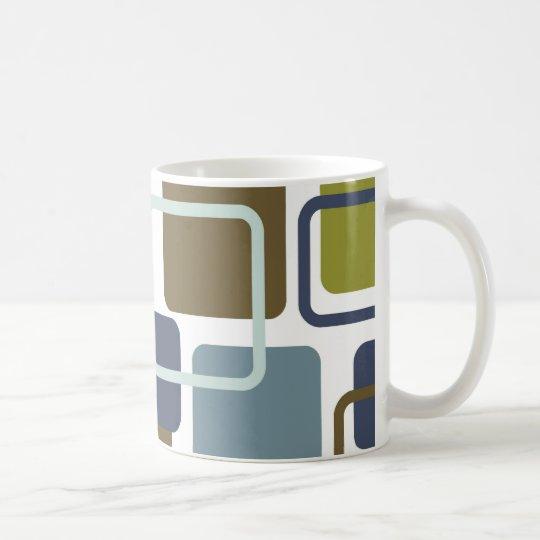 Modern Eames Rectangles 1 Coffee Mug