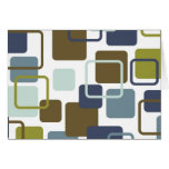 Modern Eames Rectangles 1 Greeting Card