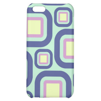 Modern Eames Rectangles 21 Case For iPhone 5C