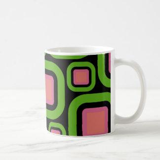 Modern Eames Rectangles 22 Coffee Mug