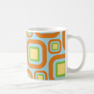 Modern Eames Rectangles 24 Coffee Mug