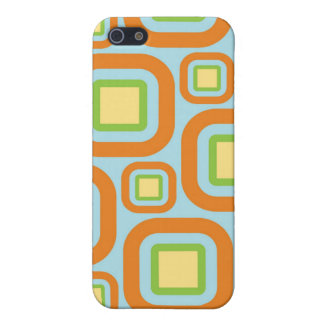 Modern Eames Rectangles 24 iPhone SE/5/5s Cover
