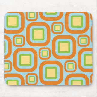 Modern Eames Rectangles 24 Mouse Pad
