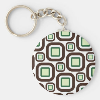 Modern Eames Rectangles 26 Keychain