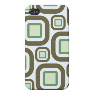Modern Eames Rectangles 27 Cover For iPhone 4