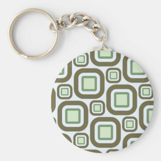 Modern Eames Rectangles 27 Keychain
