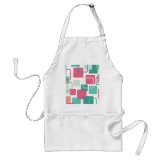 Modern Eames Rectangles 2 Adult Apron