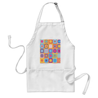 Modern Eames Rectangles 31 Adult Apron