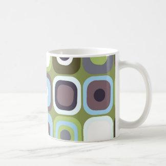 Modern Eames Rectangles 32 Coffee Mugs
