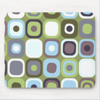 Modern Eames Rectangles 32 Mouse Pad
