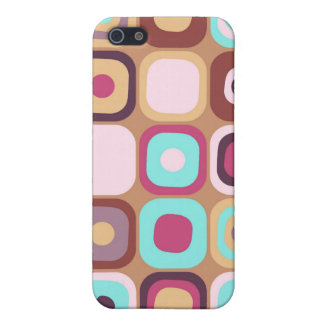 Modern Eames Rectangles 34 Case For iPhone SE/5/5s