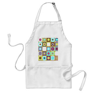 Modern Eames Rectangles 35 Adult Apron