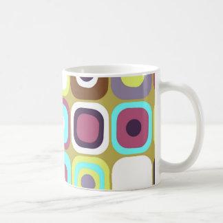 Modern Eames Rectangles 35 Coffee Mug