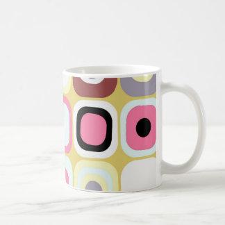 Modern Eames Rectangles 36 Coffee Mug