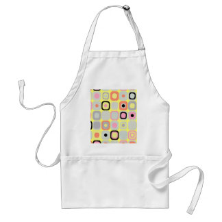 Modern Eames Rectangles 37 Adult Apron