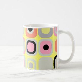 Modern Eames Rectangles 37 Coffee Mug