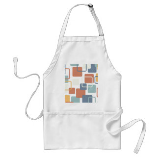 Modern Eames Rectangles 3 Adult Apron