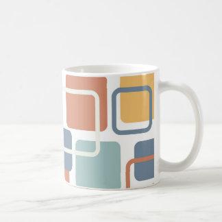 Modern Eames Rectangles 3 Mugs