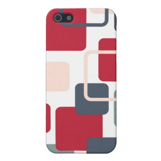 Modern Eames Rectangles 4 Case For iPhone 5