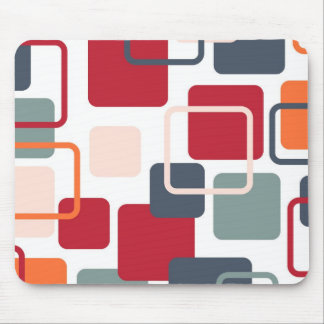 Modern Eames Rectangles 4 Mouse Pad