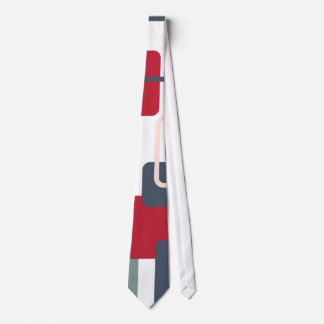 Modern Eames Rectangles 4 Neck Tie