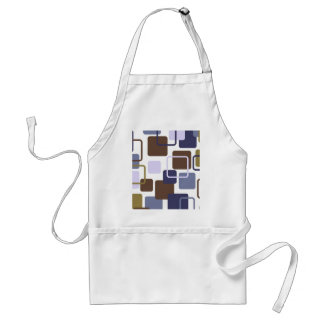 Modern Eames Rectangles 5 Adult Apron