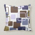 Modern Eames Rectangles 5 Throw Pillow