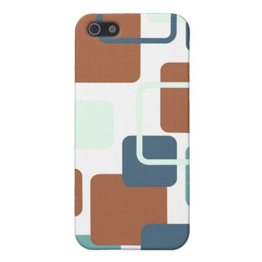 Modern Eames Rectangles 6 iPhone 5/5S Cover