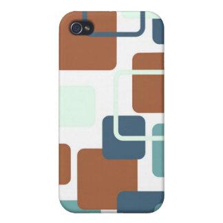 Modern Eames Rectangles 6 iPhone 4 Case