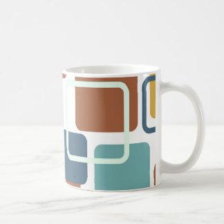 Modern Eames Rectangles 6 Mug