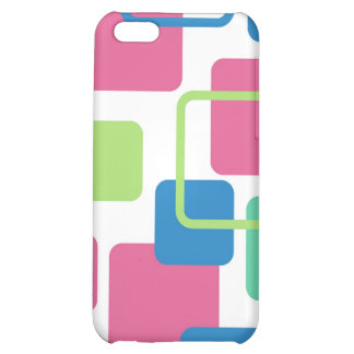 Modern Eames Rectangles 7 Cover For iPhone 5C