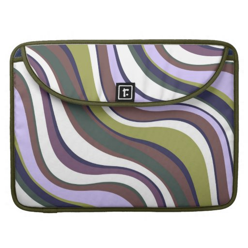Modern Eames Waves 1 Sleeves For MacBooks