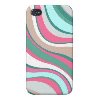 Modern Eames Waves 4 iPhone 4/4S Cases