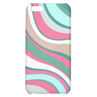 Modern Eames Waves 4 Case For iPhone 5C