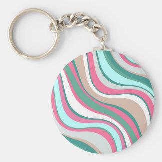 Modern Eames Waves 4 Keychain