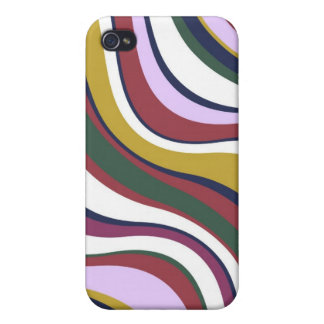 Modern Eames Waves 5 Cases For iPhone 4
