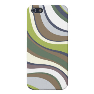 Modern Eames Waves 6 Case For iPhone SE/5/5s