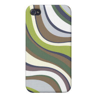 Modern Eames Waves 6 iPhone 4/4S Covers