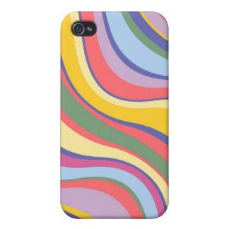 Modern Eames Waves 7 iPhone 4 Cases
