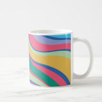Modern Eames Waves 8 Coffee Mugs