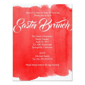Modern Easter Brunch Card