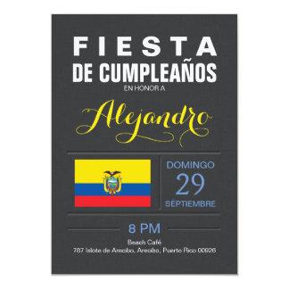 Modern: Ecuador Republic Party Card