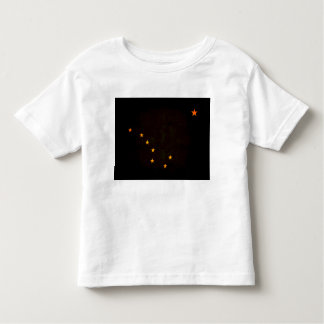 Modern Edgy Alaskan Flag Toddler T-shirt