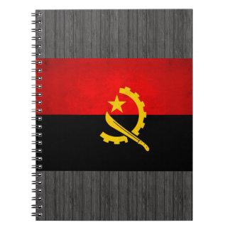 Modern Edgy Angolan Flag Notebook